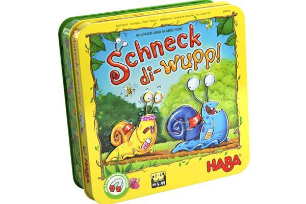 Kinderspiel Schneck di-wupp - Foto von Haba