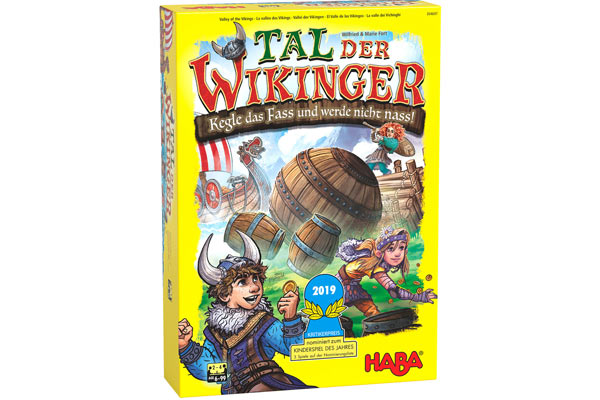 Kinderspiel Tal der Wikinger - Foto von Haba