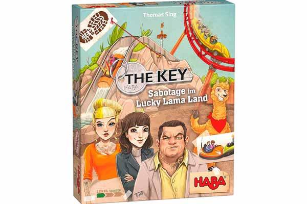 The Key: Sabotage im Lucky Lama Land - Schachtel - Foto von Haba