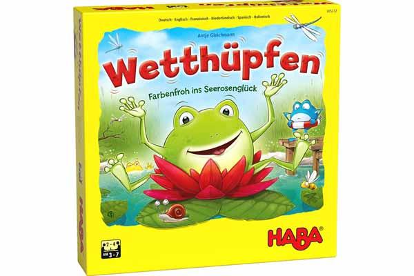 Kinderspiel Wetthüpfen - Foto von Haba