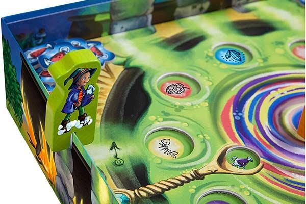 Kinderspiel Wunderkessel - Lauf um den Schachtelrand - Foto von Haba