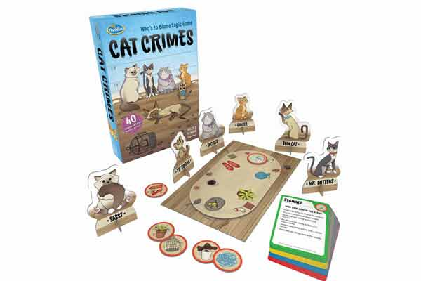 Cat Crimes - Material - Foto von Thinkfun
