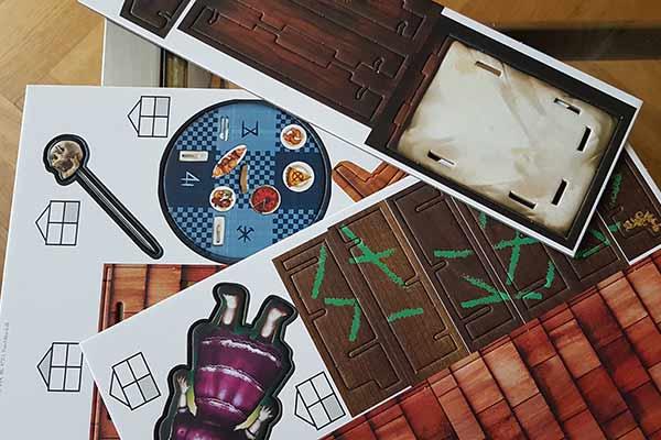 Escape the Room: Das verfluchte Puppenhaus - Material - Foto von Axel Bungart