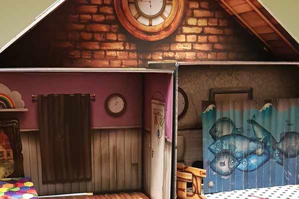 Escape the Room: Das verfluchte Puppenhaus - Ausschnitt 3D-Aufbau - Foto von Axel Bungart