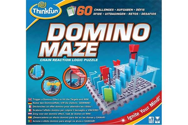 Schachtel von Domino Maze - Foto von Thinkfun
