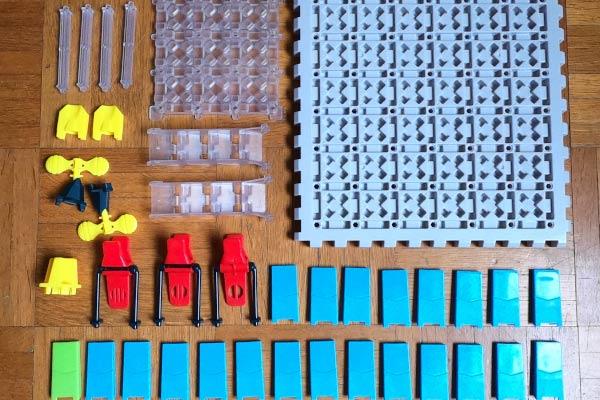 Domino Maze alle Teile - Foto: Steffi Münzer