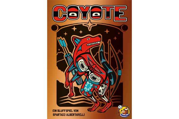 Coyote - Schachtelgrafik - Foto von Heidelbär