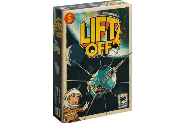 Gesellschaftsspiel Lift Off - Foto von Hans im Glück
