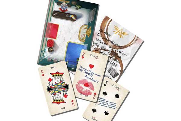 Falsches Spiel im Casino - Material - Foto von Homunculus