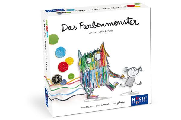 Das Farbenmonster - Schachtel - Foto von HUCH!
