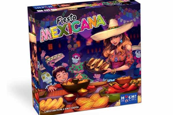 Gesellschaftsspiel Fiesta Mexicana - Packung - Foto von HUCH