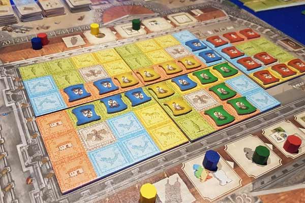 Forum Trajanum Spielaufbau - Foto von Axel Bungart