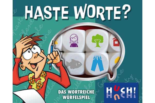 Haste Worte Würfelspiel - Schachtel - Foto von HUCH