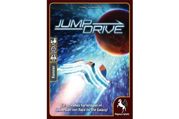 Gesellschaftsspiel Jump Drive - Foto von Pegasus Spiele