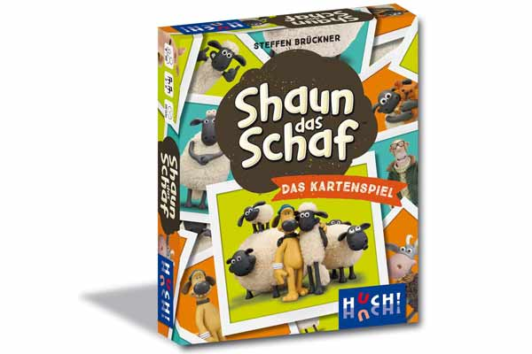 Shaun das Schaf: Das Kartenspiel - Schachtel - Foto von HUCH