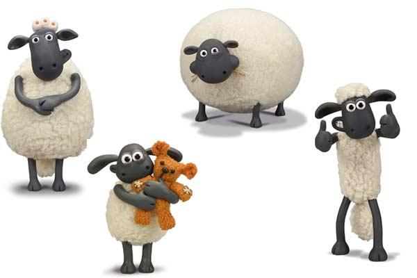 Shaun das Schaf: Wo stecken Shaun & Co.? - Figuren, montiert- Foto von HUCH