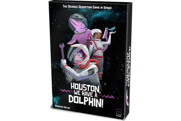Houston, We Have A Dolphin - Cover - Foto von Hybr
