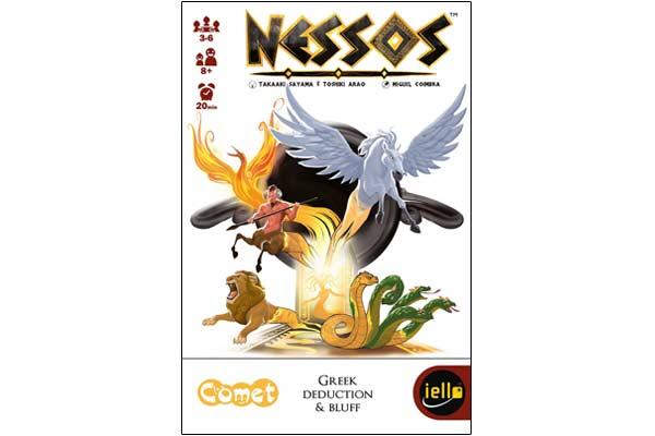 Gesellschaftsspiel Nessos - Foto von Iello