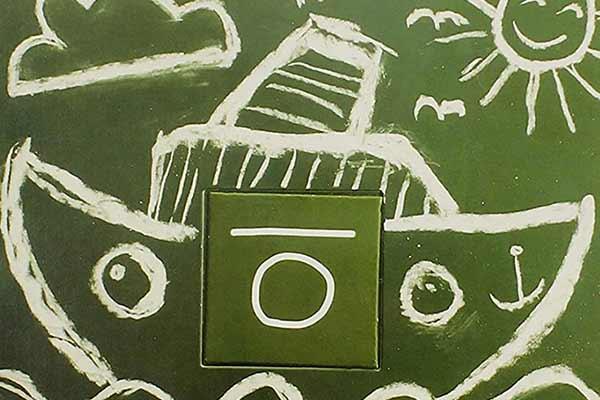 Im Kritzeln eine 1 XXL - Ausschnitt - Foto von Peter Menk
