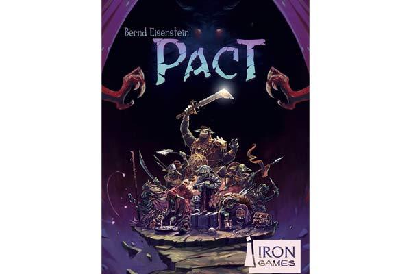 Fantasy-Spiel Pact - Schachtelgrafik - Foto von Irongames