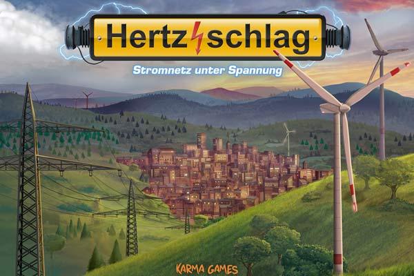 Hertzschlag - Schachteldesign - Foto von Karma Games