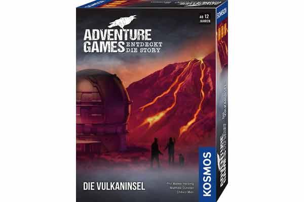 Adventure Games: Die Vulkaninsel - Schachtel - Foto von Kosmos