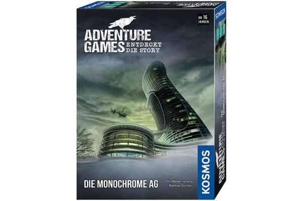 Adventure Games: Die Monochrome AG - Schachtel - Foto von Kosmos