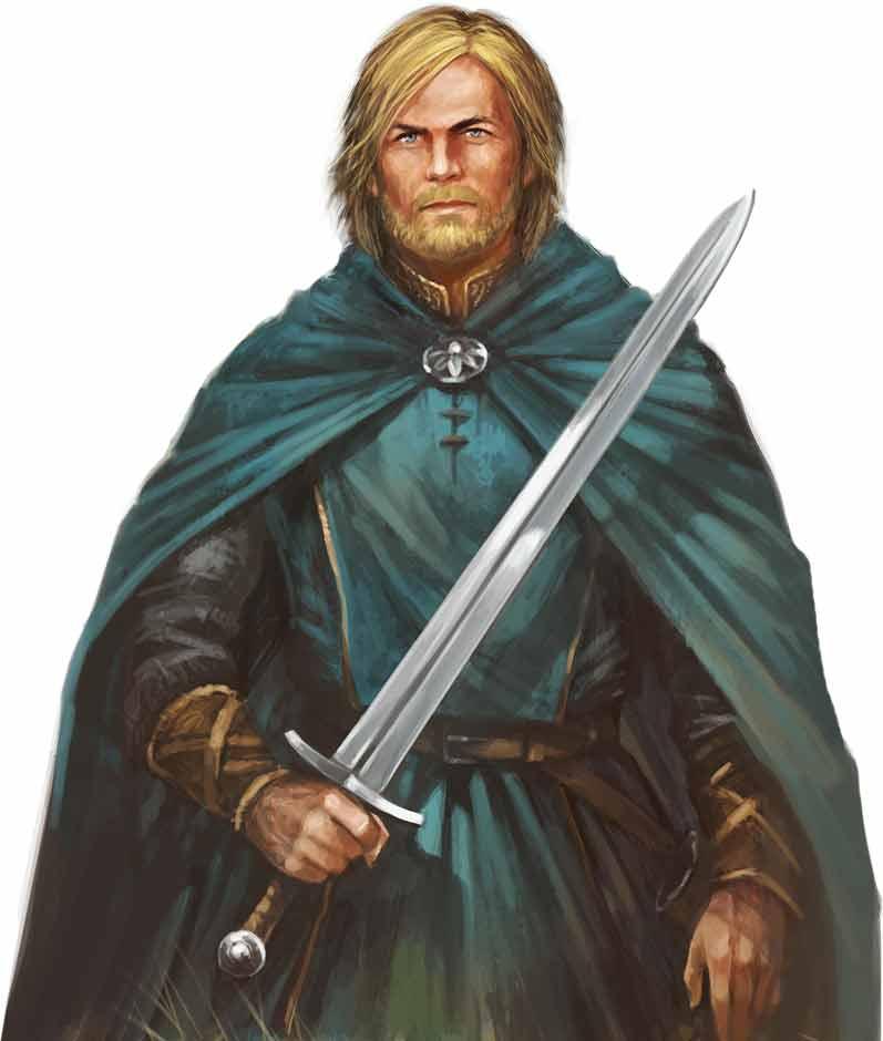 Die Legenden von Andor: Chada & Thorn - Figur Thorn von Michael Menzel illustriert