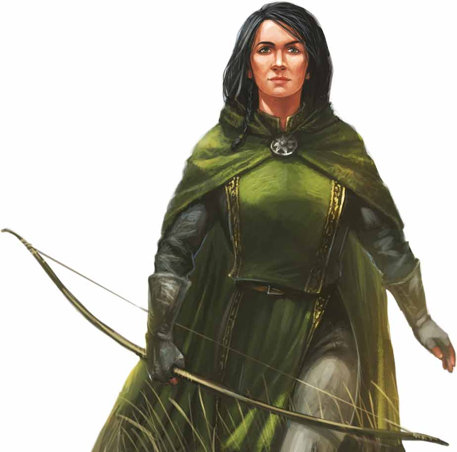 Die Legenden von Andor: Chada & Thorn - Figur Chada von Michael Menzel illustriert