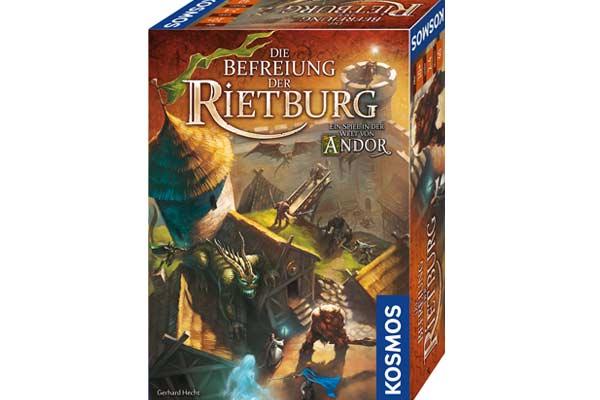 Die Befreiung der Riethburg - Schachtel - Foto von Kosmos