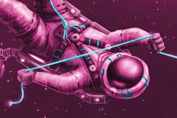 Die Crew - Illustrations-Ausschnitt - Foto von Kosmos