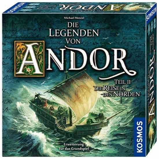 Schachtel von Die Legenden von Andor II - Die Reise in den Norden - Foto von Kosmos