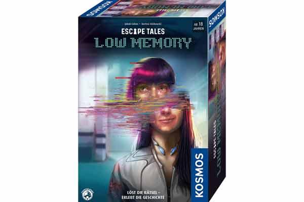 Escape Tales: Low Memory - Schachtel - Foto von Kosmos