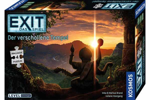 Exit: Das Spiel - Der verschollene Tempel - Schachtel - Foto von Kosmos