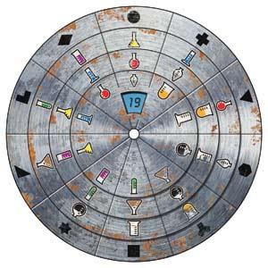 Decodierscheibe von Exit - Das geheime Labor - Foto von Kosmos