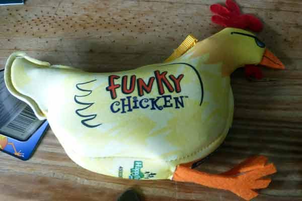 Funky Chicken - Verpackung - Foto von Jörn Frenzel