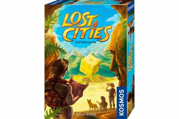Lost Cities: Auf Schatzsuche - Schachtel - Foto von Kosmos
