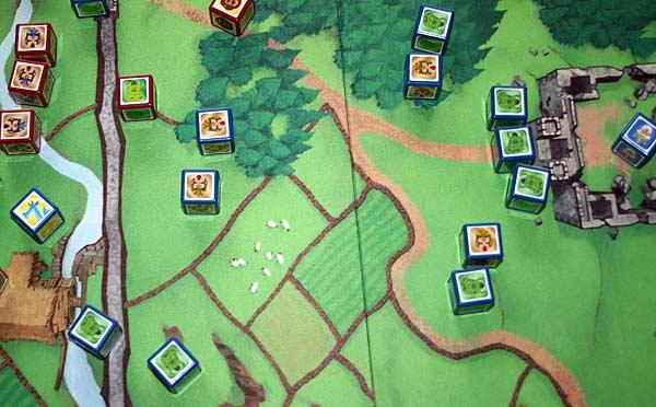 Aufbau von Rumms - Foto von Reich der Spiele