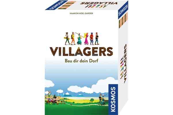 Gesellschaftsspiel Villagers - Cover - Foto von Kosmos