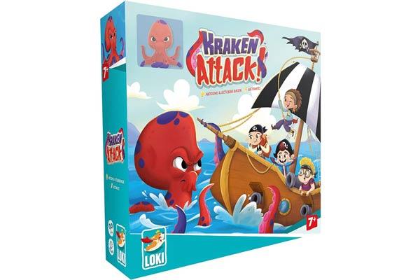 Kinderspiel Kraken Attack! - Foto von Loki