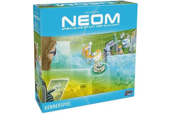 Neom: Gesellschaftsspiel - Foto von Lookout Spiele