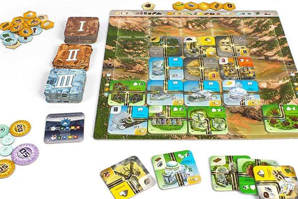Neom: Erbaue die Stadt der Zukunft - Foto von Lookout Spiele