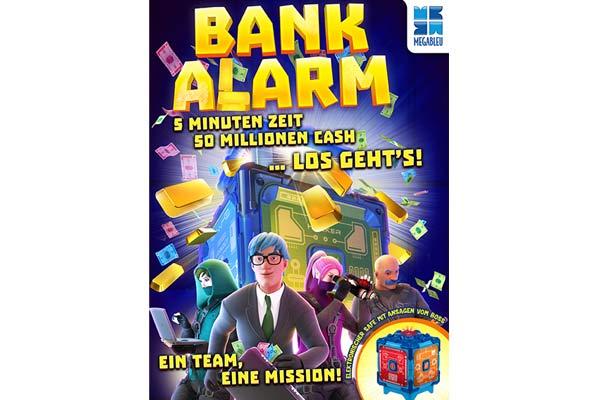 Bank Alarm - Illustration -  Foto von Megableu/Huch