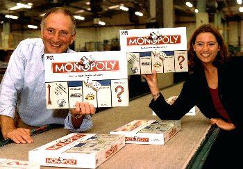 Monopoly - die erste Euro-Ausgabe
