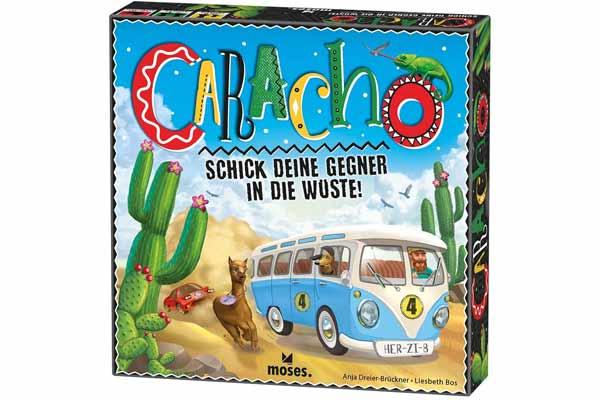 Caracho - Schachtel - Foto von moses.Verlag