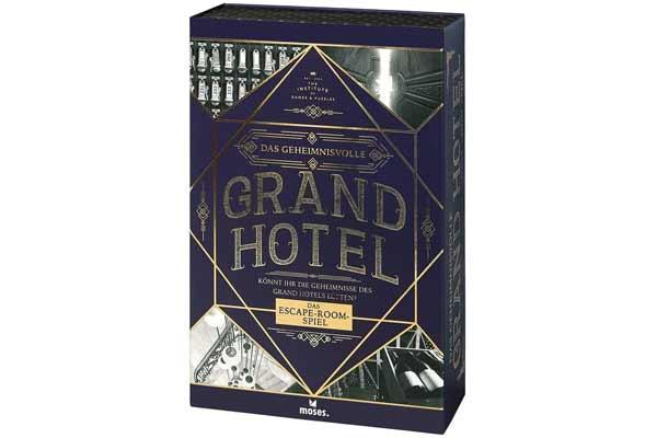 Das geheimnisvolle Grand Hotel - Schachtel - Foto von moses.Verlag