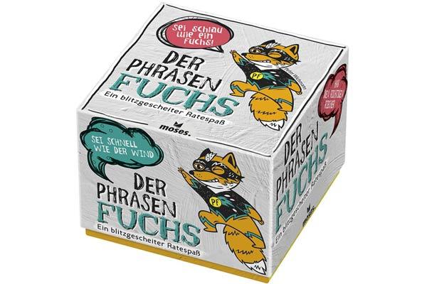 Der Phrasenfuchs - Verpackung - Foto von moses.Verlag