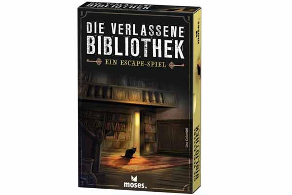 Die verlassene Bibliothek - Schachtel - Foto von moses.Verlag