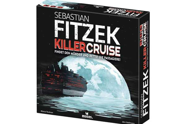 Fitzek - KillerCruise - Cover - Foto von moses.Verlag