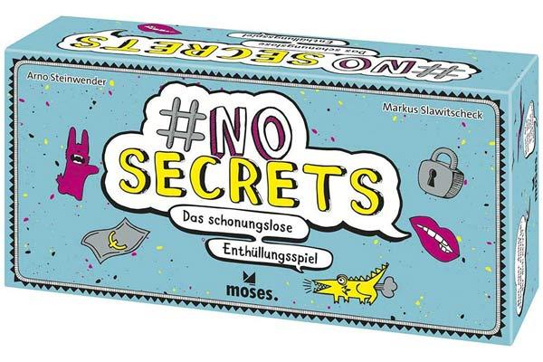 Einschätzspiel No Secrets - Foto von Moses.Verlag